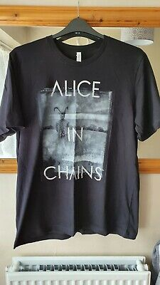 ALICE IN CHAINS Official XL Tour T Shirt 2019 European Tour Extra Large NEW Goat • 11£