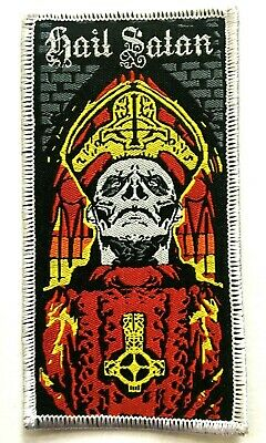 GHOST - Papa Emeritus - Woven Patch Sew On Rare B.C. Aufnäher Parche • 5.50£