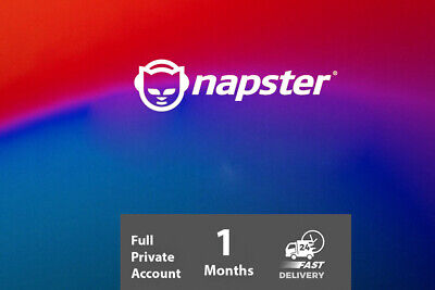 Napster Premier  1 Month Private Account Fast Delivery Worldwide 🎵⚡ • 0.99£
