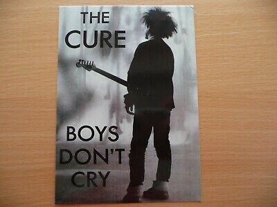 The Cure - Boys Don't Cry Postcard. • 1.50£