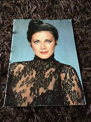 Amazing Vintage Lynda Carter Uk Tour Brochure From 1980 In Superb Condition!!! • 10.50£