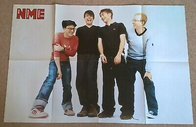 Blur, Vintage Large UK Press Interviews/articles X24 + Cuttings Clippings Poster • 37.99£