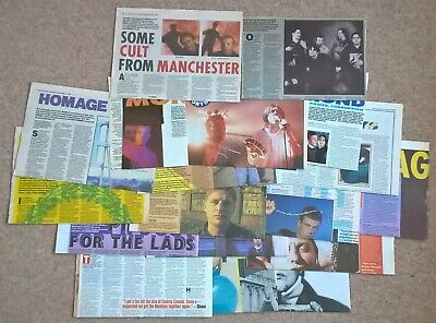Happy Mondays UK Press Interviews Cuttings Clippings (NME, Bummed, Pills) • 22.99£