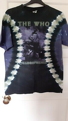 The Who Quadrophenia T Shirt Large • 2.50£