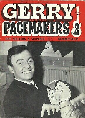GERRY & THE PACEMAKERS MONTHLY. No 2. APRIL 1964. VERY RARE PUBLICATION!!!!!!!  • 9.99£