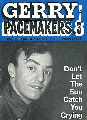 GERRY & THE PACEMAKERS MONTHLY. No 3. MAY 1964. VERY RARE PUBLICATION!!!!!!!  • 9.99£