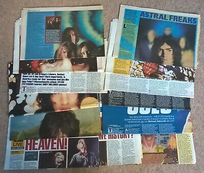 Richard Ashcroft, Verve Press Cuttings Clippings (Urban Hymns, Alone Everybody) • 4.99£