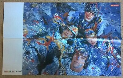 Stone Roses (Ian Brown) UK Press Cuttings Clippings Poster (Second Coming, NME) • 8.99£