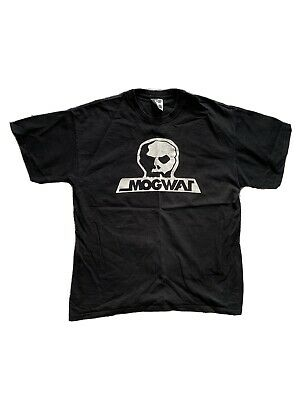 Mogwai Skull Skates T-shirt Rare Official Original Rock Action Large L Postrock • 10£