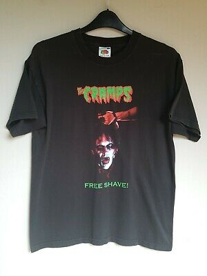 The Cramps 2003 Vintage T Shirt Fiends Of Dope Island Tour Genuine Official Used • 1.90£