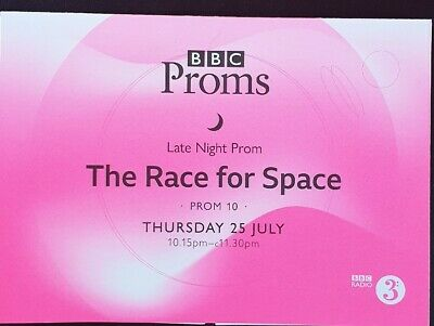 BBC Proms-Late Night Prom 10 - The Race For Space - Public Service Broadcasting • 2£