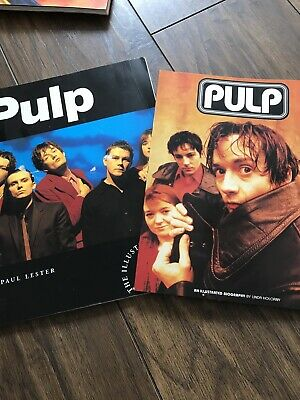 2 Pulp Books Jarvis Cocker Biography Britpop • 4.10£
