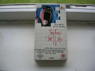 Pink Floyd - The Wall  - Film - Rare Due To Misprint On Cover - Ex Cond • 9.99£
