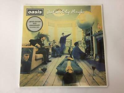 OASIS – DEFINITELY MAYBE LIMITED 25th ANNIVERSARY SILVER VINYL LP (SEALED) • 29.99£