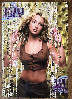 Britney Spears Oops I Did It Again Tour Programme 2000 Concert Book  Vgc • 9.30£