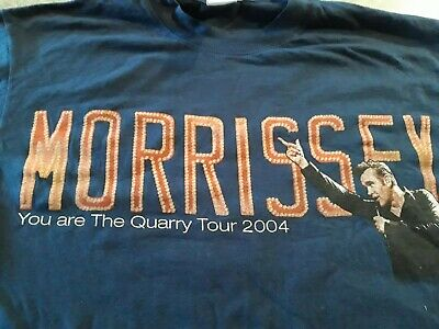 Morissey You Are The Quarry T-shirt Concert Tour Pre Owned ExCondition Size M • 10£