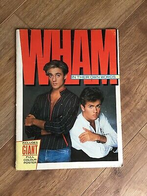 Wham In Their Own Words 1984 UK Omnibus Press 36 Page Glossy Softback Book  • 20£