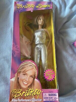 Britney Spears Doll. Video Performance. Born To Make You Happy. Silver Outfit.  • 20£