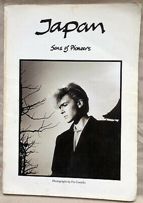 Japan Sons Of Pioneers *rare 1982 Tour & Photo Book Fin Costello David Sylvian • 23£