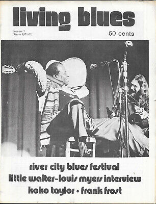 LIVING BLUES : Magazine : Number 7 : Winter 1971-72 • 10£