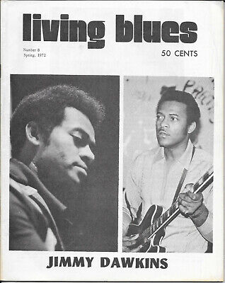LIVING BLUES : Magazine : Number 8 : Spring 1972 • 10£