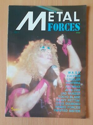 Metal Forces Magazine Number 4 Twisted Sister Cover • 25£