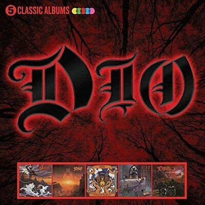 Dio - 5 Classic Albums [5 Cd]  - New & Sealed • 9.95£