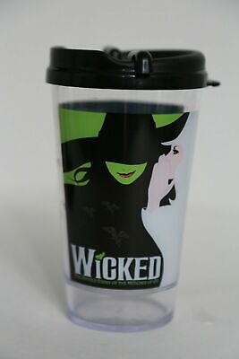WICKED Broadway Musical Souvenir Cup W/ Lid • 19.99£