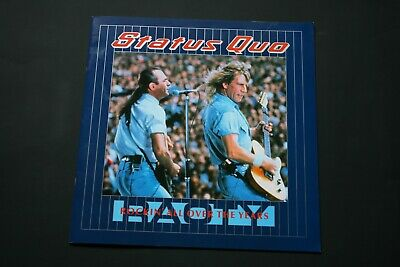 Status Quo Tour Programme - Rockin' All Over The Years (25 Years) - 20 Pages • 9£
