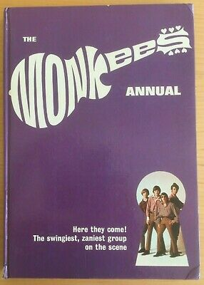 The MONKEES Annual 1967 - Hardback Book 94 Pages • 7.95£