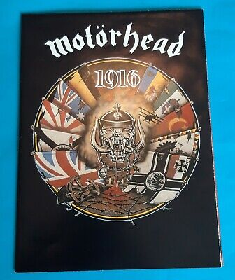 Motorhead 1916 Ltd Ed Tour Fold Out Poster. 1991. • 29.99£