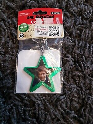 One Direction Interactive Jewellery - Star Keyring - Green - Liam - New • 1.70£