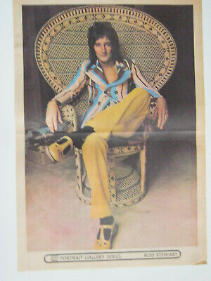 ROD STEWART  4 Original Posters From 1972 - 1974 • 8£