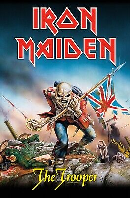 Iron Maiden - The Trooper Official Licensed Textile Poster Flag • 19.99£
