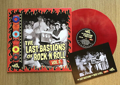 The LAST BASTIONS Of ROCK N ROLL VOL 2 - Ltd Edition LP-IncExclusive Lobby Card! • 18£