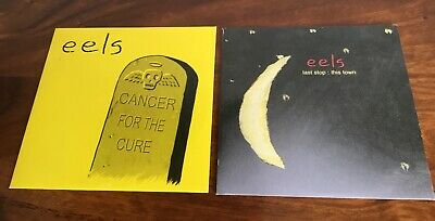Eels 2 X CD Promos. Cancer For The Cure, Last Stop This Town. Mr E. Eels. Ex. • 4.95£