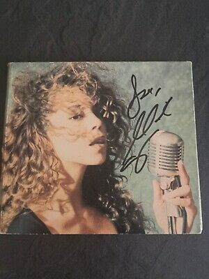Mariah Carey Vision Of Love SIGNED 1 Track Promo CD Digipak 1990 RARE • 249.99£