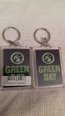 Green Day Official Band Keyring Rrp£2.49 Each • 2.50£