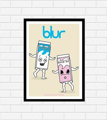 Blur Coffee And Tv Poster • 9.99£