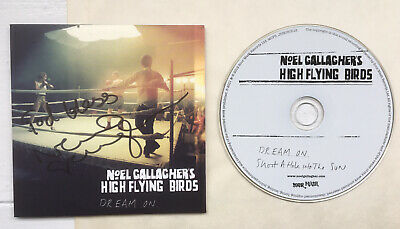 Noel Gallagher Signed Dream On CD Single NGHFB Oasis Liam Gallagher • 120£