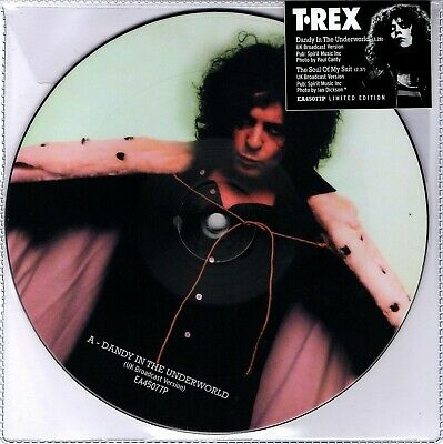 Marc Bolan/t.rex : Dandy In The Underworld/soul Of My Suit - Picture Disc New • 11.50£