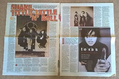 Stereophonics (Kelly Jones) Vintage Clippings Cuttings Interviews UK Press, NME • 9.99£