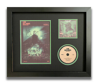 Liam Gallagher Hand Signed Framed Cd Display - Mtv Unplugged - Oasis. • 199.99£