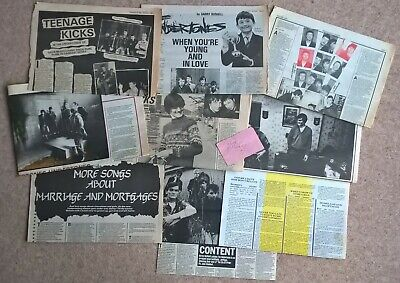 The Undertones Vintage UK Press Cuttings Clippings Article Interviews Autograph • 14.99£