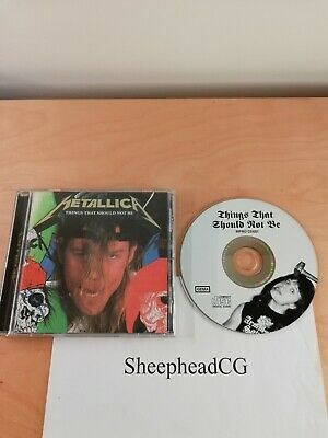 Metallica ‎– Things That Should Not Be - 1996 Europe Release - MCDPRO1 - VGC! • 29.99£