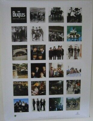 THE BEATLES: Anthology - 1996 Store Poster • 9£