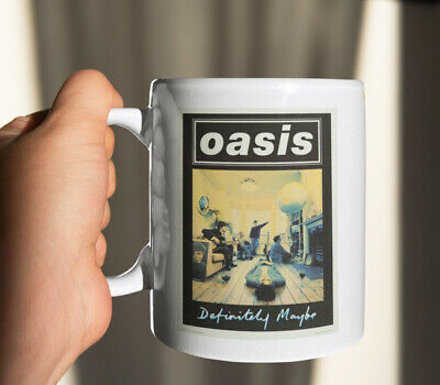 Oasis Definitely Maybe Album Cover Mug/Cup Tea Coffee Gift Liam Noel Gallagher • 7.99£