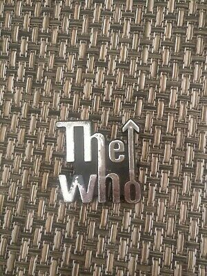 Vintage The Who Plastic Badge • 2.99£