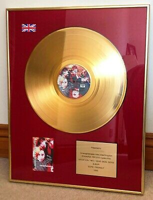 The Charlatans  Some Friendly  GOLD DISC • 250£