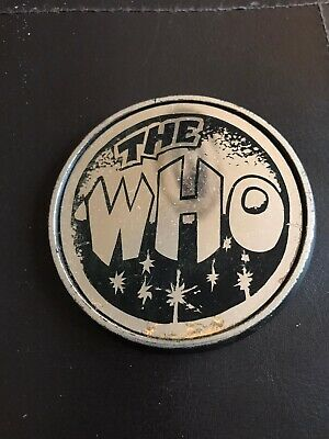 Vintage Original The Who Pin Badge 72mm • 1.99£